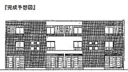 兵庫県伊丹市美鈴町1丁目の賃貸アパートの外観