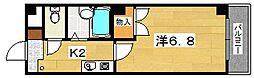 シャルマンM卓暁[3階]の間取り