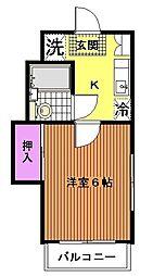 CITY1[2階]の間取り