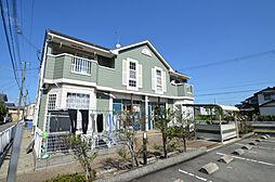 兵庫県姫路市飾磨区清水2丁目の賃貸アパートの外観