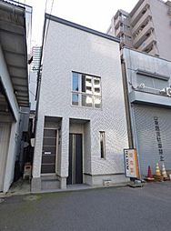 神奈川県横浜市神奈川区栄町の賃貸アパートの外観