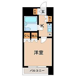 ラ・レジダンス・ド仙台[4階]の間取り