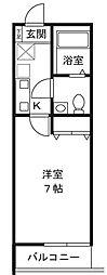 コモハイツ宮崎台[1階]の間取り