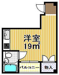 メゾンブランシェ2番館[4階]の間取り