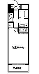 サニーセレクトコーポ[6階]の間取り