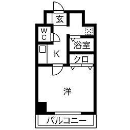 エクセレント和泉町[2階]の間取り