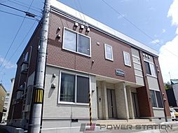北海道江別市弥生町の賃貸アパートの外観