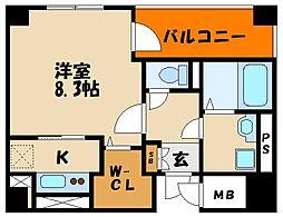 樽屋町マンション[2階]の間取り