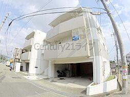 兵庫県宝塚市南ひばりガ丘1丁目の賃貸マンションの外観