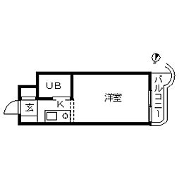 TOP・東寺尾第1[0303号室]の間取り