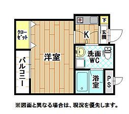 FACE12[2階]の間取り