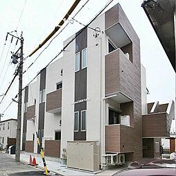 愛知県名古屋市中村区中村中町2丁目の賃貸アパートの外観