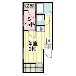 コンフォーレ鵜の木 bt[302kk号室]の間取り