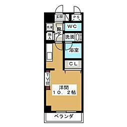 ノヴェル新栄[9階]の間取り