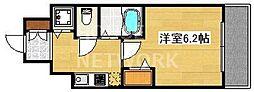 スワンズ京都七条リベルタ[407号室号室]の間取り