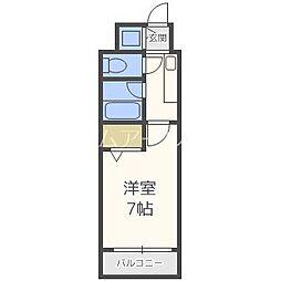 メゾンドヴィレ薬院[3階]の間取り