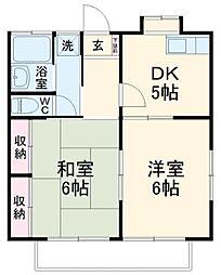 シンシア湘南[1階]の間取り