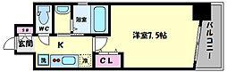 TOYOTOMI STAY PREMIUM ABENO天王寺(トヨトミステイプレミアムア 5階1Kの間取り