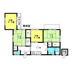 [一戸建] 茨城県神栖市柳川 の賃貸【/】の間取り