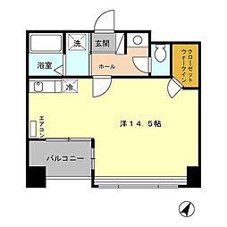 Goodway Fujimi[5階]の間取り
