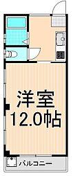 ヨシノハイツ[201号室]の間取り
