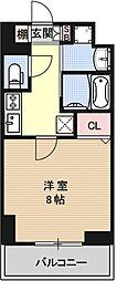 アスヴェル京都堀川高辻[305号室号室]の間取り