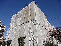 東京都世田谷区千歳台4丁目の賃貸アパートの外観