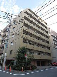 東京都新宿区新宿5丁目の賃貸マンションの外観