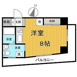 リエス千葉新宿[5階]の間取り
