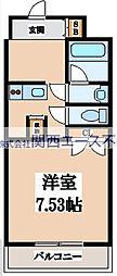 GIGLIO大阪城南(ジリオ大阪城南)[2階]の間取り