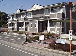 徳島県板野郡藍住町東中富字権現傍示の賃貸アパートの外観