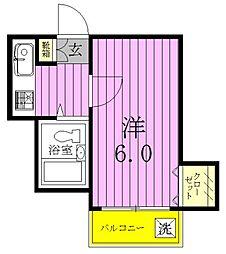 プロシード稔台[2階]の間取り