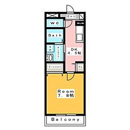 新築 スカイ・ピアII[1階]の間取り