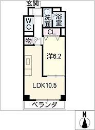 モンルポヤノネ[3階]の間取り