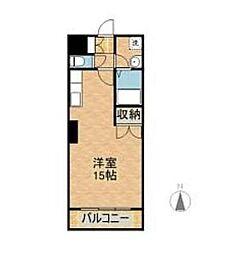 宮崎県宮崎市恒久2丁目の賃貸アパートの間取り