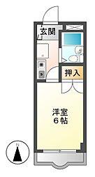 NPハイツ[6階]の間取り
