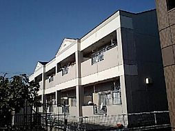 愛知県一宮市東五城字中通り西の賃貸アパートの外観