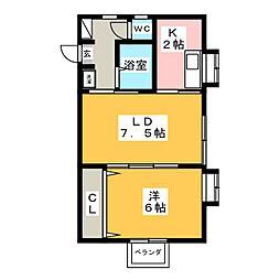 トレゾールVio[2階]の間取り