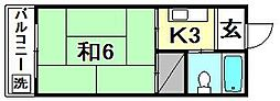 メゾン星岡[202 号室号室]の間取り