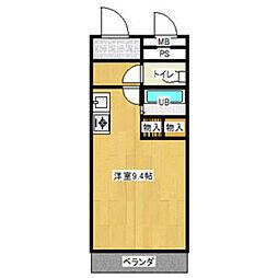 メゾンA4[204号室]の間取り
