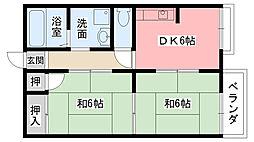 サクセス甲子園[103号室]の間取り