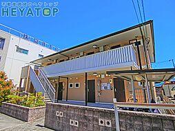 愛知県名古屋市南区本城町1丁目の賃貸アパートの外観