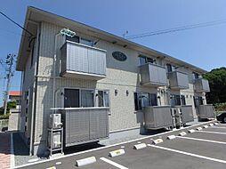 福島県郡山市富田町字大島の賃貸アパートの外観