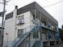 北24条鈴掛ハイツB棟[1階]の外観