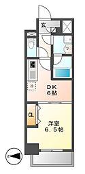 MEIBOU TESERA(メイボーテセラ)[8階]の間取り