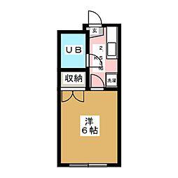 千代田メゾンA[2階]の間取り