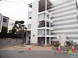 大阪府大阪市住吉区上住吉2丁目の賃貸アパートの外観