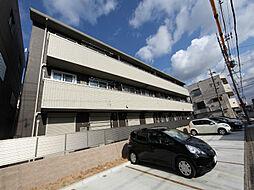 愛知県名古屋市東区大幸3丁目の賃貸アパートの外観
