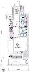 リヴシティ横濱宮元町[6階]の間取り
