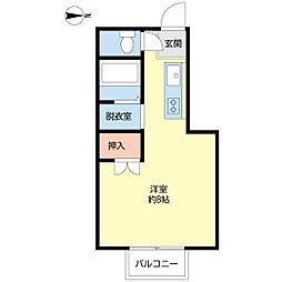 佃コーポI[2階]の間取り